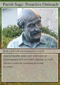 Parish Sage Trading Card